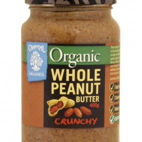 Chantal Organics Organic Peanut Butter Whole Crunchy 700g