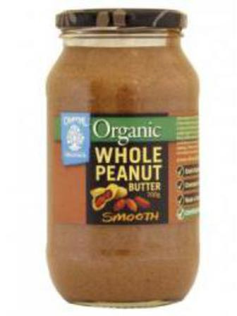 Chantal Organics Organic Peanut Butter Whole Smooth 700g