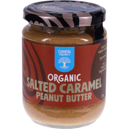 Chantal Organics Peanut Butter Salted Caramel 230g