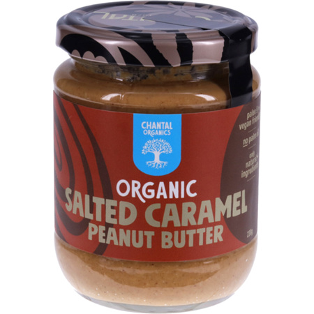 Chantal Organics Peanut Butter Salted Caramel 230g