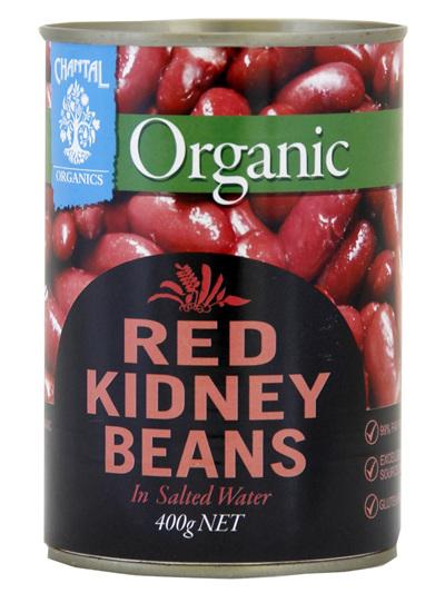 Chantal Organics Red Kidney Beans 400g