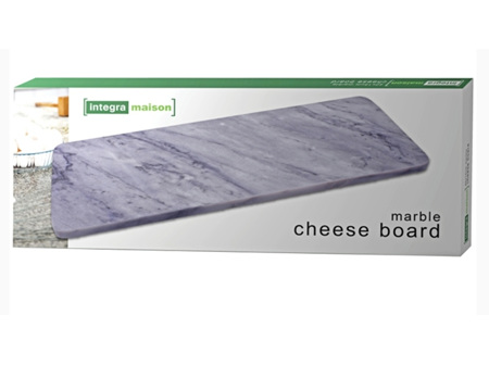 Charcoal Marble Cheese Board 40x15cm
