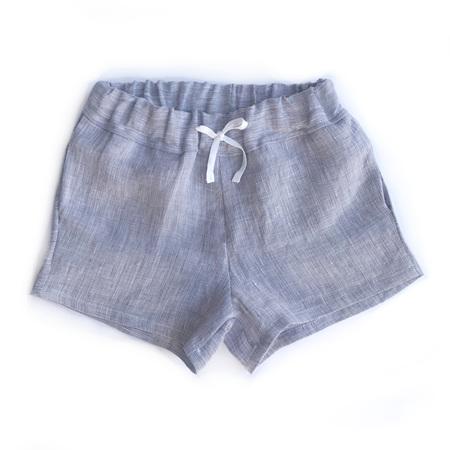 Charlie Shorts - Grey Linen