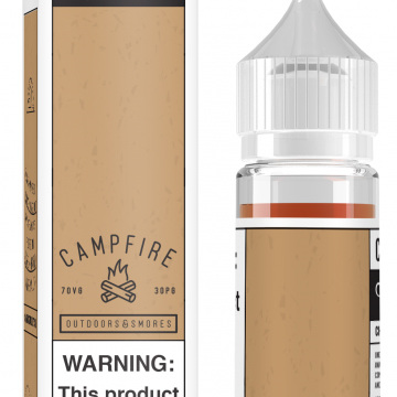 *CLEARANCE* Charlie's  Chalk Dust - Campfire - 60ml - e-Liquid