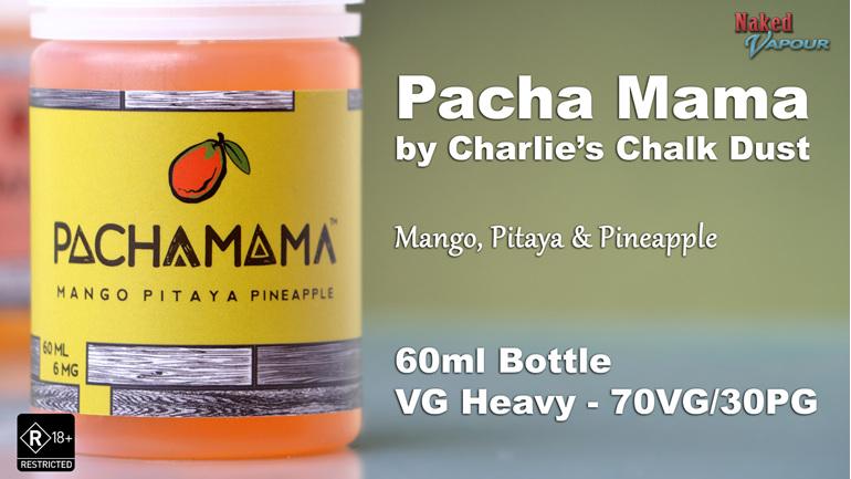 Charlie's Chalk Dust - Pacha Mama - Mango Pitaya Pineapple