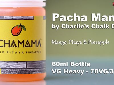 Pacha Mama - Mango, Pitaya & Pineapple - 60ml - e-Liquid