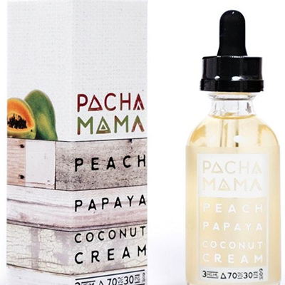Charlie's Chalk Dust - Pacha Mama - Peach, Papaya & Coconut Cream - 60ml - e-Liquid