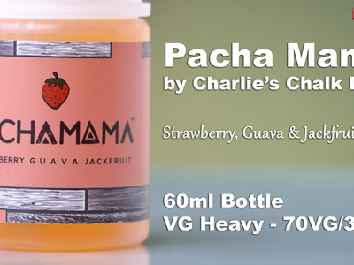 Pacha Mama - Strawberry, Guava  & Jackfruit - 60ml - e-Liquid