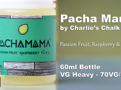 Pacha Mama - Passion Fruit Raspberry Yuzu - 60ml - e-Liquid
