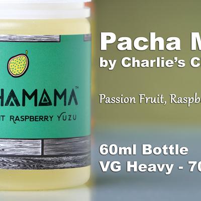 Pacha Mama - Passion Fruit Raspberry Yuzu - 60ml - e-Liquid