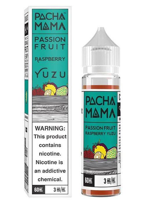 Charlies Pacha Mama Passion Fruit Raspberry Yuzu e-Liquid @ Naked Vapour NZ