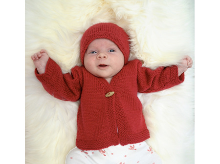Charlottes Cardy and Hat Pattern
