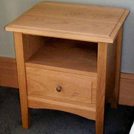 Charters Bedside Cabinet Oak