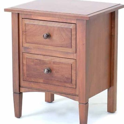 Charters Bedside Cabinet Two Drawers