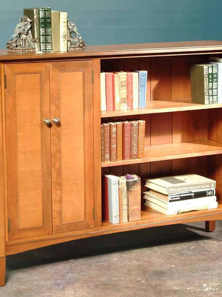 Charters Low Bookcase Two Doors