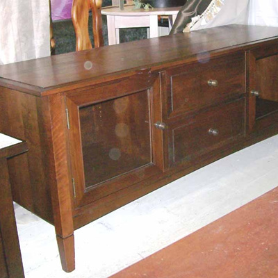 Charters Low TV Stand with Doors
