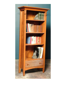 Charters Tall Bookcase & Drawer