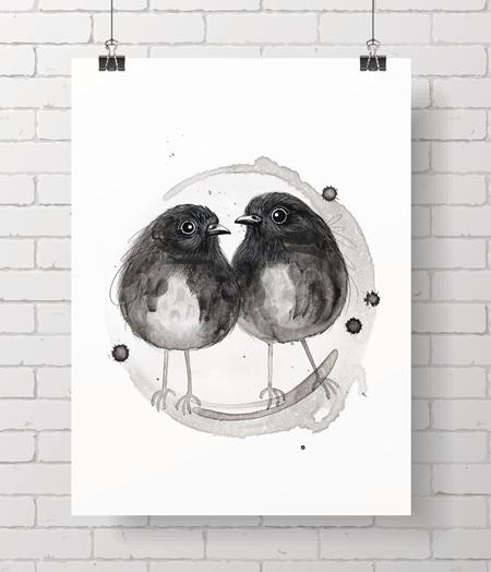 Chatham Island robins