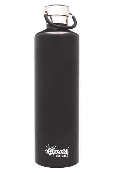 CHEEKI CLASSIC BOTTLE MATTE BLACK 1L