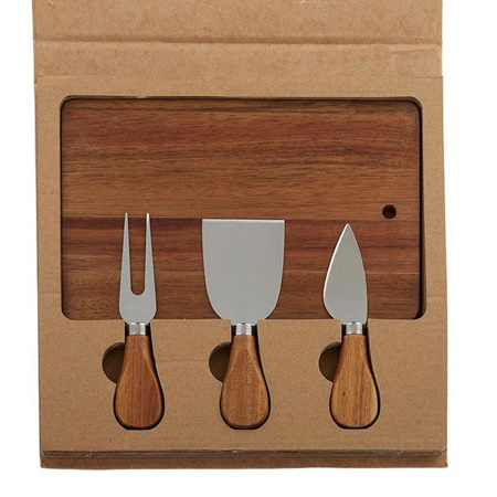 CHEESE BOARD - PACK OF 4 GIFT SET