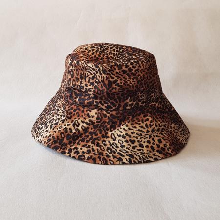 Cheetah Bucket Hat - Adult size large