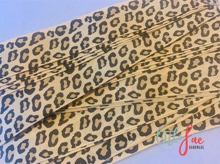 Cheetah Spot Hair Bows