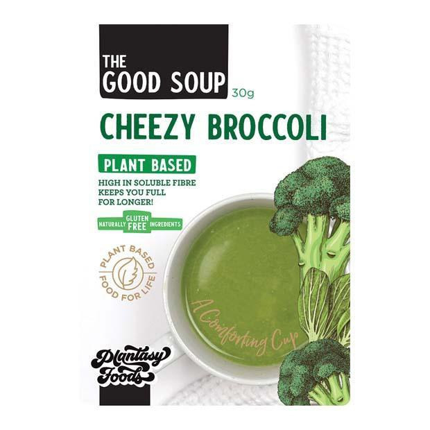 Cheezy Broccoli Soup