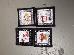 Chef Coasters - Set of 4
