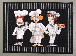 Chef Placemat (3)