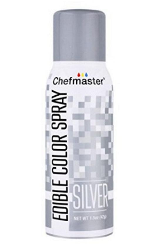 CHEFMASTER EDIBLE SPRAY - SILVER