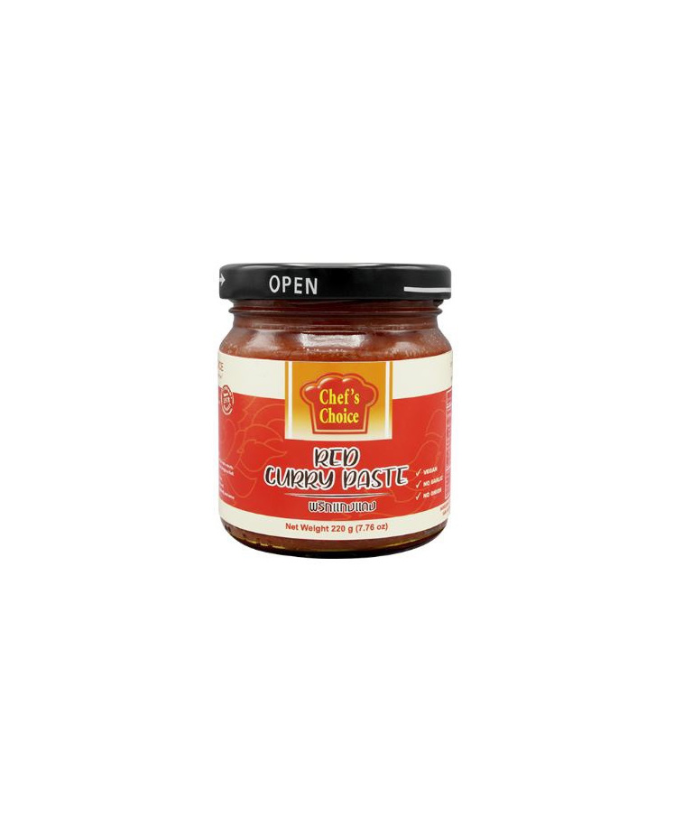 Chefs Choice Red Curry Paste 220g