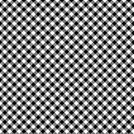 Chelsea Checks Black/White 9700-9