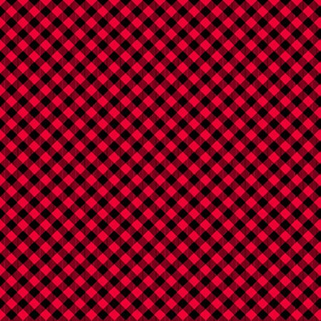 Chelsea Checks Red/Black 9700-89