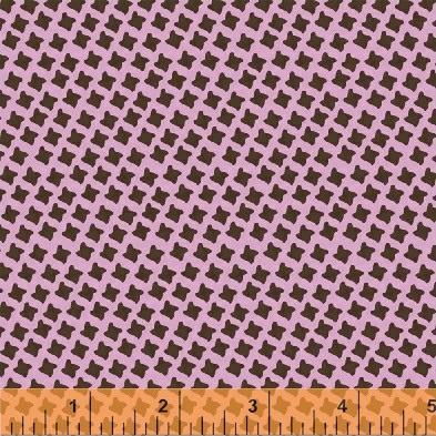 Chelsea - Houndstooth on Pink