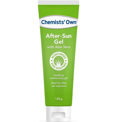 CHEMISTS' OWN AFTER-SUN GEL WTH ALOE TUBE 125G