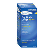CHEMISTS' OWN DRY COUGH FORTE 200ML