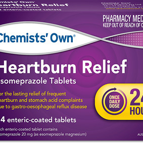 Chemists' Own Heartburn Relief 14 Tablets