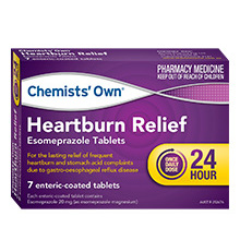 Chemists' Own Heartburn Relief 7 Tablets