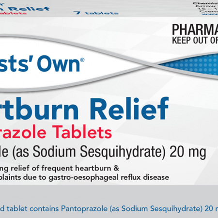 Chemists' Own Heartburn Relief Tablets, 7 Pack
