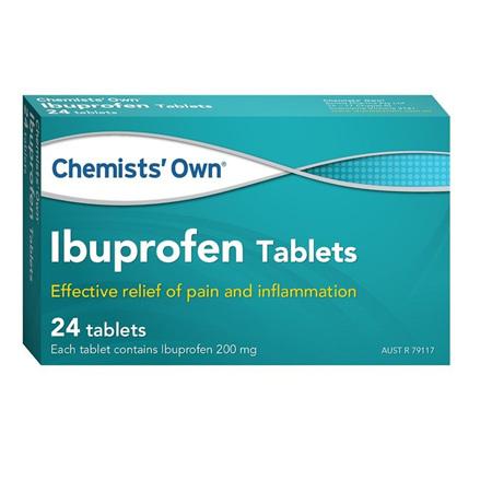 Chemists' Own Ibuprofen 200mg 24 Tablets
