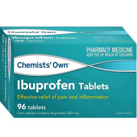 Chemists' Own Ibuprofen 200mg 96 Tablets