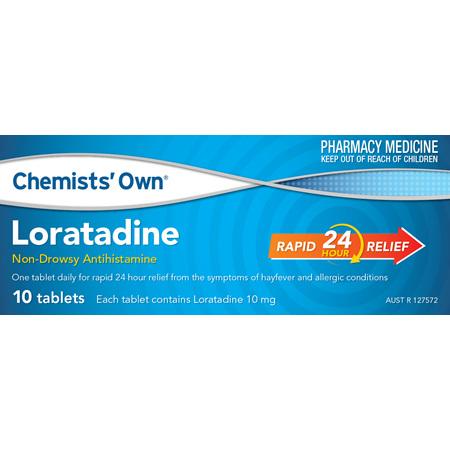 Chemists' Own Loratadine 10mg Tablets 10 Pack