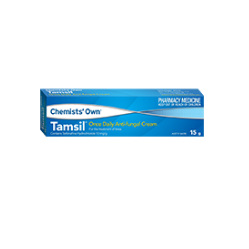 CHEMISTS' OWN TAMSIL CREAM 15G