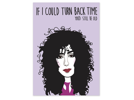 Cher Birthday Card - Cath Tate by Jo Burrows