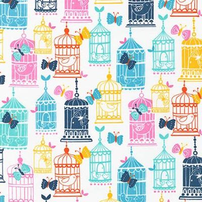 Cherry Blossom Garden - Bird cages