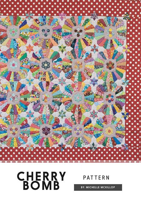 Cherry Bomb Pattern by Michelle McKillop