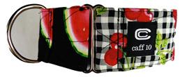 "Cherry Melon 2"" Designer Collar - caff 10"
