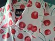 Cherry Men's Shirt Size Small