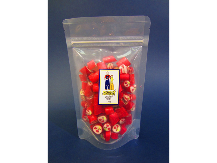 cherry rock candy bag