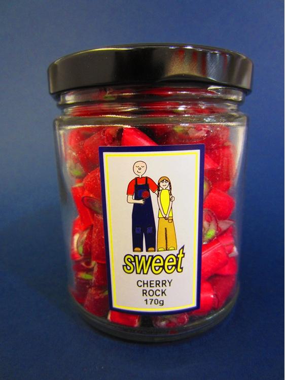 cherry rock jar